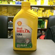 Lubrificante Shell Helix Hx6 Flex 15w40
