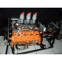 Motor V8 Ford Flathead 8ba Original Tripla Carburação
