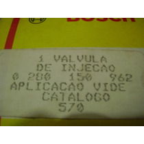 Bico Injetor Bosch 0280150962 Santana Vectra Omega Kadett