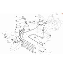 Tubo Flexivel Ar Condicionado Condensador Fiat