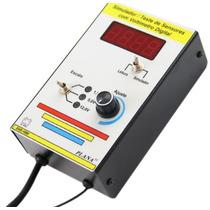 Simulador Teste Sensores Voltímetro Digital Planatc Sdv-1000
