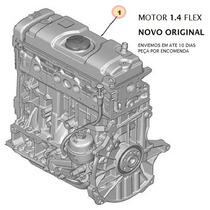 Motor 1.4 8v Peugeot 206 207 Citroen C3 Novo Original