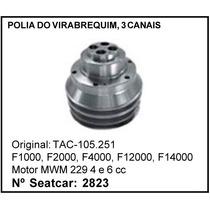 Polia Do Virabrequim 3 Canais Ford Mwm F1000 F4000 F2000