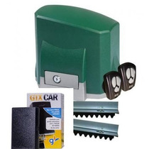 Kit Motor Seg Solo Portão Deslizante + Sensor Tx Car
