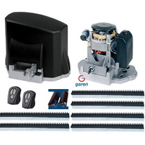 Kit Motor Deslizante Portão Eletrônico Garen+ #disponível