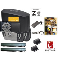 Kit Motor Portão Eletrônico Veloz Price Unisystem 220 Volts