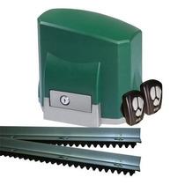 Kit Motor Portão Automático Eletronico Deslizante Seg 1/4 Hp