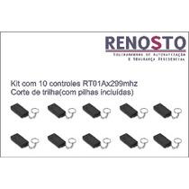 Kit De Controles 299 Mhz Para Portas E Portões Eletrônicos