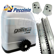 Kit Motor Portão Deslizante Gatter1/4cv 110vou 220v Peccinin