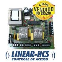 Placa De Comando Portão - Trimono Linear - 110/220v Original