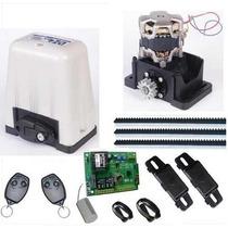Kit Motor Para Portão Eletrônico Deslizante Dz4 Sk Rossi