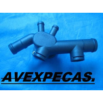 Flange Do Cabecote Radiador New Beeatle 99/..2.0