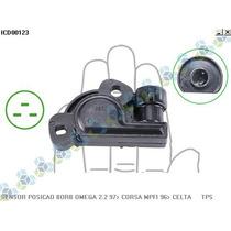 Sensor De Posição Da Borboleta Corsa Mpfi 96/... - Delphi