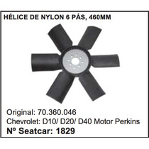 Helice Do Radiador D-20 Motor Perkins