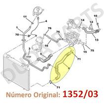 Mangueira Inferior Radiador 307 308 408 C4 Picasso 2.0 16v