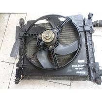 Radiador+motor Ventuinha Do Ford Ka 97/99 Usado Bom Ok