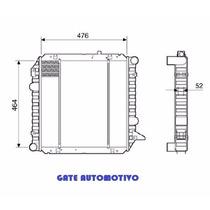 Radiador Ford F1000 Diesel 95-98