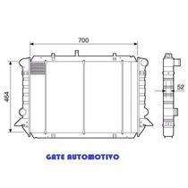 Radiador Ford F1000 Mwm Diesel 96-98 Rv19073