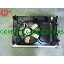 Radiador+defletor+motor Da Ventoinha Escort 94 (perua)