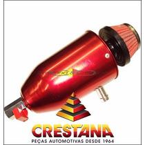 Reservatorio Do Respiro De Oleo Pequeno 1/2 Litro Vermelho