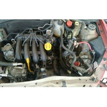 Motor Parcial Renault 1.0 16v Clio Logan Sandero - 15.000km.