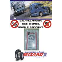 Balanceamento Sem Chumbo Caminhão Roda 295/80 Aro 22.5
