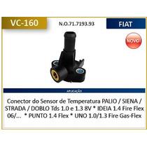Conector Do Sensor De Temperatura Palio , Siena , Strada , D