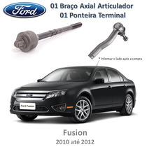 Kit Braço Axial + Ponteira Terminal Fusion 10/12 - 1ª Linha