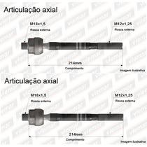 02 Braço Axial Articulador De Direção Honda Fit 03/08 Viemar