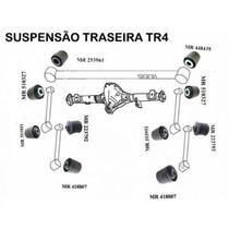 Kit 10 Buchas Braços Traseiros Pajero Io Tr4 99 A 2012