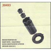 Kit Calço De Mola Dianteiro Nissan Frontier 4x4 [coifa - Buc