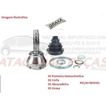 Ponteira Homocinetica Roda Peugeot Partner 1.8 Apos98 C/abs