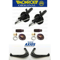 Amortecedores Balanças Bandejas Monroe Axios + Kits 206 207