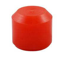 Coxim Frontal Motor Vw Ap Em Poliuretano (pu) Vermelho