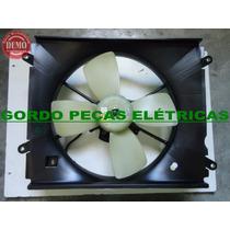 Defletor+motor Da Ventoinha Do Radiador Toyota Camry 2.2