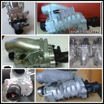 Turbo Compressor Supercharger Do Fiesta A Base De Troca
