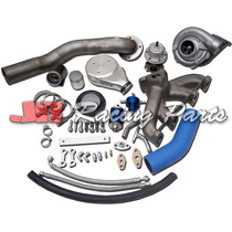 Kit Turbo Vw Ap Carburado Pulsativo Farol Azul Turbina 50/48