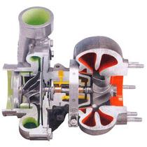 Turbina Holset Hx 50 Com Refluxo Pulsativa