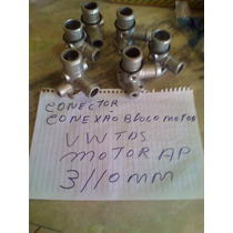 Conexão De Água Bloco Motor Vw/ford Ap 89/95