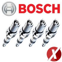 Jogo De Vela De Ignição Bosch Super Plus Orig F000ke0p02 P02