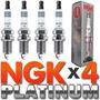 Kit 4 Velas Ngk Double Platinum Pfr7s8eg