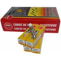 Kit Ngk Jogo Vela+jogo Cabo Vela Pt Cruiser 2.0 E 2.4 16v