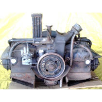 Motor Fusca 1200 Kombi Karmann Ghia E Funciona Bloco Montado