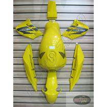 Kit De Pintura Cbx250 Twister Carenagem/tanque/lateral/paral