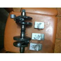 Virabrequim Completo Cb500 C/bielas E Bronzinas