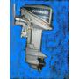 Motor De Popa 15 Hp Evinrude Revisado Frete Gratis