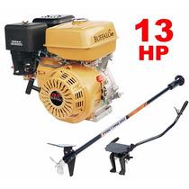 Motor Barco 13hp 4t Buffalo Bote + Rabeta Completa 1,7m