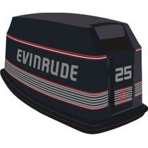 Adesivo Moto Popa Evinrude 25 E 30hp