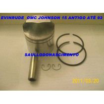 Kit Pistão Johnson Evinrude Omc 15 Hp Antigo