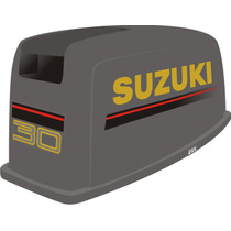 Adesivo Moto Popa Suzuki 30 Hp